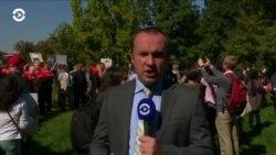 Возле Капитолия прошел митинг против планов Госдепартамента сократить количество беженцев