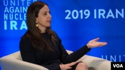 سیگال مندلکر معاون وزیر خزانهداری آمریکا در امور تروریسم و اطلاعات مالی