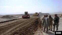 یکی از پروژه های عمرانی IRD در افغانستان