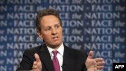 Bộ trưởng Tài chính Hoa Kỳ Timothy Geithner nói về cuộc khủng hoảng nợ nần ở Washington, 10/7/2011