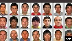 Hình ảnh 33 thợ mỏ Chile bị kẹt ở độ sâu 700 mét dưới lòng đất