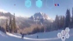 Anteojos de esquí con realidad aumentada