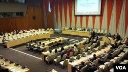 Diskusi 'Islam in Nusantara' di markas besar PBB di New York.