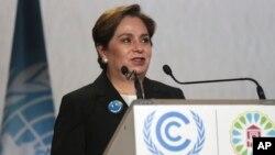 Patricia Espinosa, kepala urusan iklim PBB