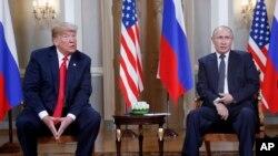 Trump û Putin li Hilcivîna Helsinki