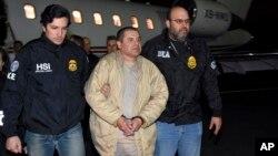 """Joaquín """"El Chapo"""" Guzmán enfrentará un proceso que podría ponerlo en la cárcel de por vida. La exclusión de la pena de muerte fue condición de México para extraditarlo."""