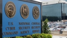 FILE - A sign stands outside the National Security Administration (NSA) campus in Fort Meade, Maryland, June 6, 2013.