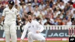 انگلینڈ کی بھارت کے خلاف ٹیسٹ سیریز میں شاندار فتح