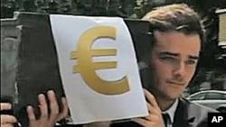 希臘債務危機撼動歐元