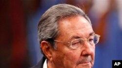 古巴国务委员会主席劳尔.卡斯特罗