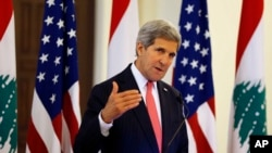 US Kerry Lebanon