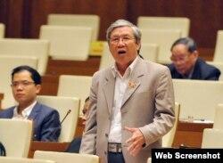 Đại biểu Quốc hội Lê Văn Lai (ảnh chụp từ trang vnexpress)