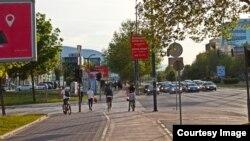 Biciklisti i pješaci tokom pandemije / foto: Nisad Selimović