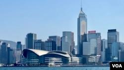 """美國傳統基金會2021年""""全球經濟自由度指數""""首次剔除香港評級。(美國之音 湯惠芸)"""