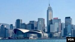 资料照:香港岛远眺