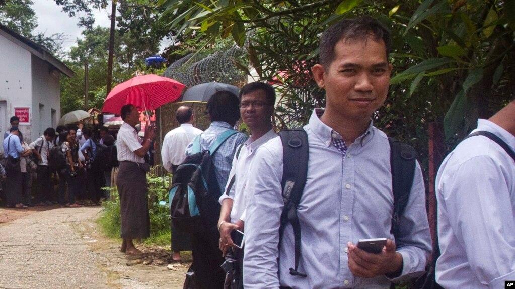 Myanmar Now သတင္းဌာန အယ္ဒီတာခ်ဳပ္ ဦးေဆြ၀င္း