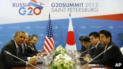 Obama na cimeira do G20 na Russia