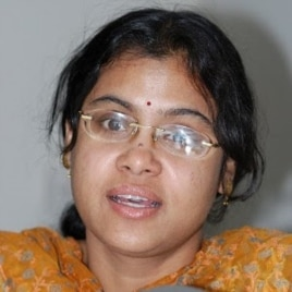 Nuclear expert Reshmi Kazi of the Institute for Defense Studies and Analyses, 2007 (file photo)