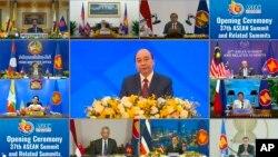 Việt Nam chủ trì Hội nghị trực tuyến ASEAN ngày 12/11/2020.