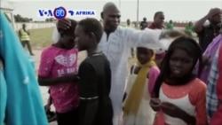 VOA60 Afrika: Maelfu ya watoto wa Nigeria walopoteza makazi kutokana na ghasia za Boko Haram waungana tena na familia zao.