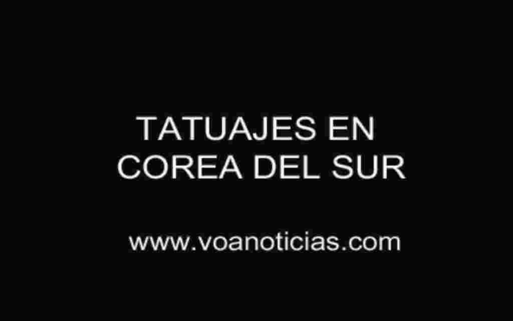 Tatuajes desde Corea del Sur