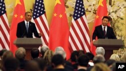 U.S. - China Climate Change Announcement