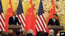 Kineski i američki predsednici, Barak Obama i Ši Đinping