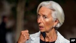 Direktur Pelaksana IMF Christine Lagarde mengatakan pemulihan ekonomi global mengecewakan (foto: dok).