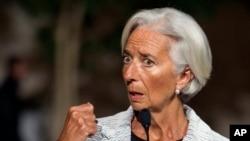 크리스틴 라가르드 국제통화기금(IMF) 총재 (자료사진)