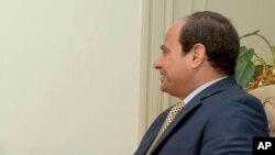 Le président égyptien Abdel-Fattah el-Sissi, 20 avril 2016.