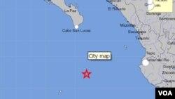 Un terremoto de magnitud 6,5 sacudió este martes islas mexicanas en el Océano Pacífico