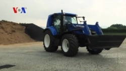 Methane-Powered Tractor That Could Go Into Production Within Five Years