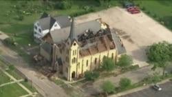 Tormentas y tornados causan estragos en EE.UU.