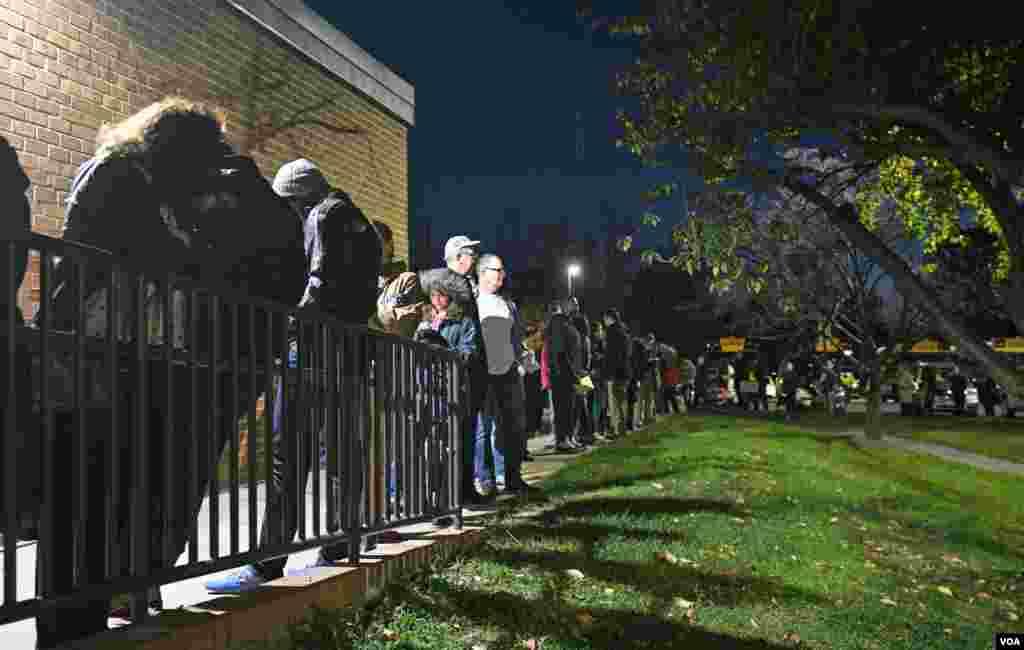 رای گیری انتخابات ریاست جمهوری آمریکا، در ایالت ویرجینیا