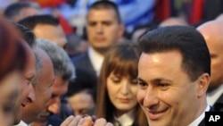 Груевски: Центрите на моќ не` гледаат како непланирано дете