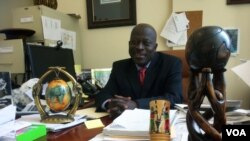 Kofi Boateng, director of the West Harlem Development Corp. in New York, is helping to organize community forums where West Africans can get accurate information about Ebola in order to quell fears and remain healthy, Oct. 28, 2014.