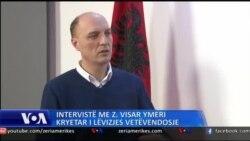 Intervistë me drejtuesin e Vetvendosjes Visar Ymeri