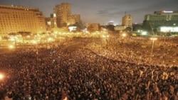 تظاهرات هزاران شهروند مصری در خیابان های قاهره