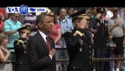 TT Obama đọc diễn văn kỷ niệm Lễ Chiến sĩ trận vong