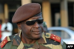 Le chef de l'armée bissau-guinéenne, le général Agusto Mario (16 avril 2012)
