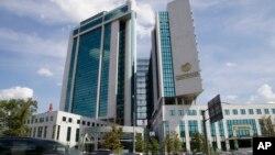 """Sedište sankcijama obuhvaćene banke """"Sberbank"""" u Moskvi"""