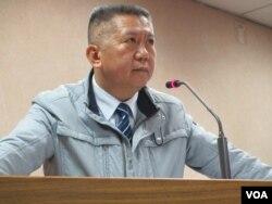 台湾执政党国民党立委杨应雄 (美国之音张永泰拍摄)