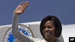 US first lady Michelle Obama (file photo)