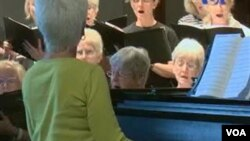 سالمندان ترانه می خوانند