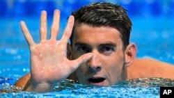 Michael Phelps clasificó para las Olimpíadas de Río de Janeiro, la quinta vez consecutiva que irá a los Juegos Olímpicos.