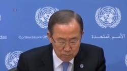 潘基文要求南蘇丹交戰雙方停火進行和談
