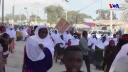 Somali'de Gösteriler