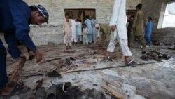 در حمله انتحاری به یک مسجد در پاکستان ۴۸ تن کشته شدند