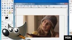 GIMP dispone de una gran variedad de herramientas de dibujo y retoque fotográfico.