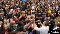 El presidente Obama ha recordado que la reforma migratoria no pudo concretarse hasta ahora por culpa de los republicanos.
